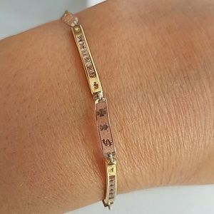 Jewelry - 10k Yellow Gold Good Luck Bracelet 7 inches